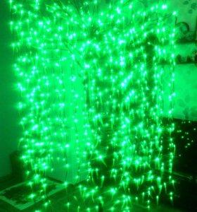 Ива светодиодная (высота 2.5м)