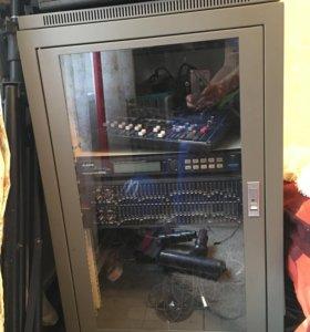 Рэковый шкаф pro audio AP 16 d