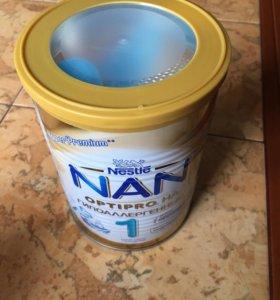 Смесь NAN optipro гипоаллергенный 1