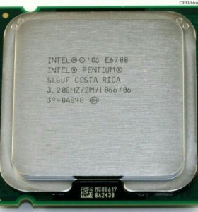 Процессор INTEL Pentium e6700
