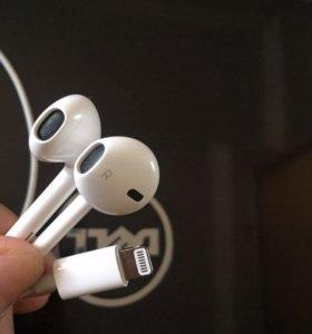 Наушники iPhone 7 оригинал