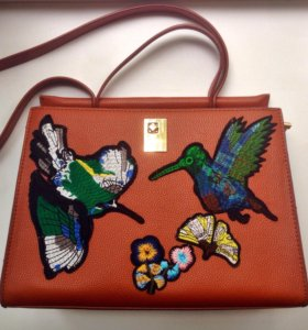 Модная винтажная сумка