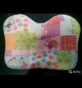 Детская ортопедическая подушка с рождения