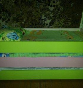 Кровать детская 3в1
