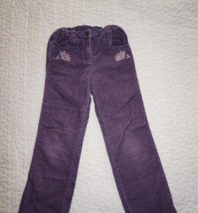 вельветовые брюки для деочки