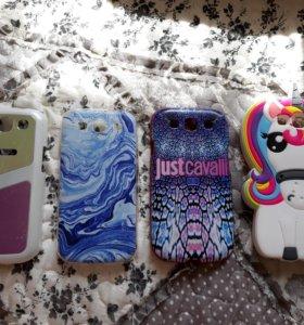 Чехлы на Samsung Galaxy SIII