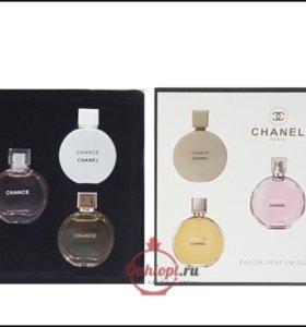 Набор Chanel Chance 5 духов Шанель шанс