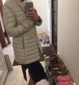 Куртка(пальто стеганое )жен.