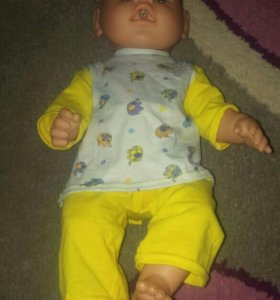 Пижама, костюмчик для куклы беби бон