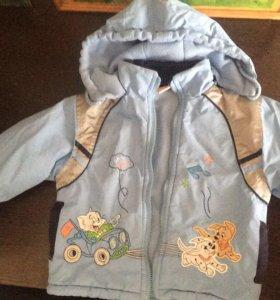 Куртка демисезонная б/у рост 92-98