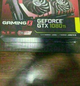 Видеокарта MSI nvidia GeForce GTX 1080 Ti gaming X