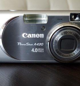 Цифровой фотоаппарат Canon PowerShot A430