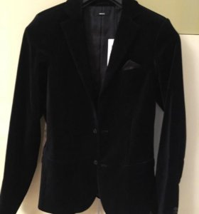 Mexx 170-176 рост бархатный пиджак. Новый!