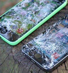 Экраны на iPhone стекло в подарок