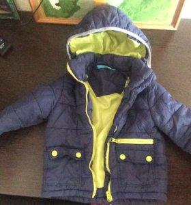 Куртка б/у р 98