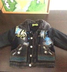 Куртка демисезон б/у р 92-98