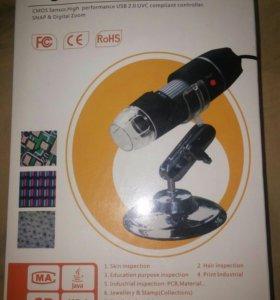 Новый микроскоп s08 20x - 800x usb