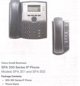 Телефон Sisco SPA 300 IP Phone