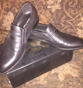 Туфли новыеRoberto Paulo оригинал,натуральная кожа