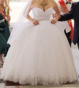 Свадебное платье и туфельки