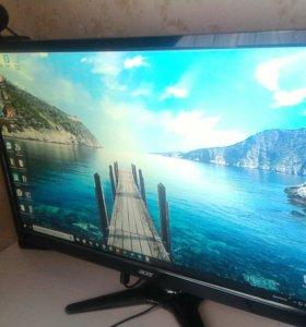 "Пк i5-7400, GTX1060 6GB,SSD, Acer 24"""