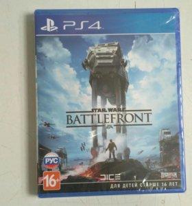Star wars Battlefront(новая в упаковке) PS4