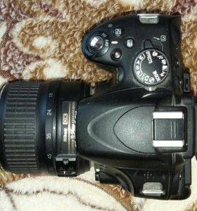 Зеркальный фотоаппарат Nikon D5100