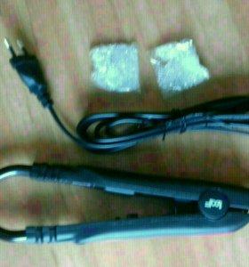 Щипцы для наращивания волос и кератин