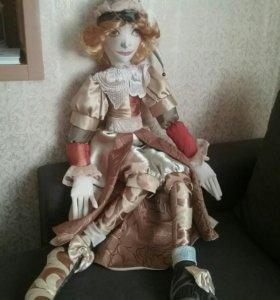 Кукла текстильная,авторская