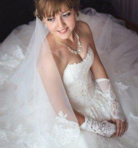 Свадебное дизайнерское платье