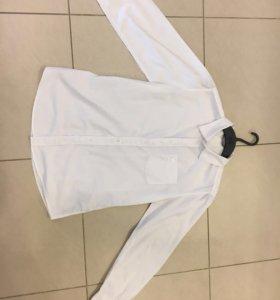 Рубашка белая 158