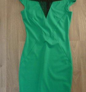 Зеленое платье concept club концепт клаб