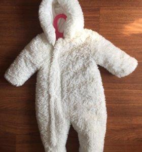 Тёплый комбинезон мишка mothercare