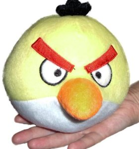 Новые мягкие игрушки - птички из игры Angry Birds