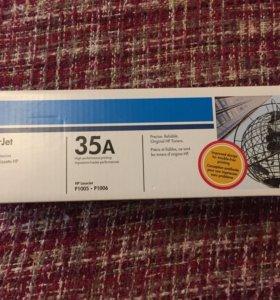 Катридж HP LaserJet 35 A CB435 A