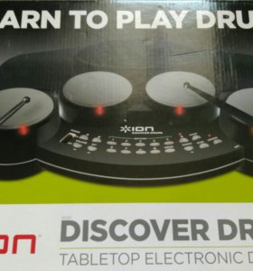Барабаны ION AUDIO DISCOVER DRUMS
