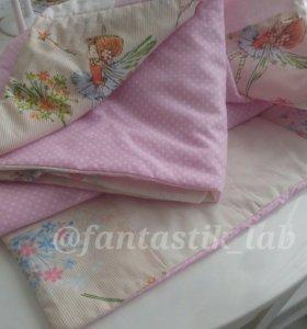 Одеяло детское новое 110/130 см