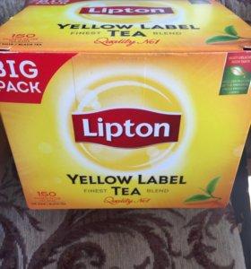 Чай Lipton 150 пакетиков из Финляндии