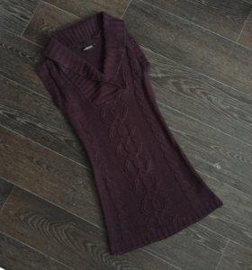 Вязаное платье-туника Jennyfer