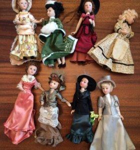 «Дамы эпохи» куклы