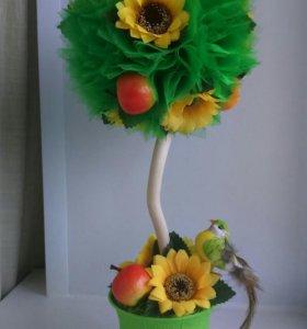 "Топиарий -""дерево счастья"""