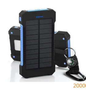 Продам аккумулятор на солнечных батареях POWER BANK 20000mAh