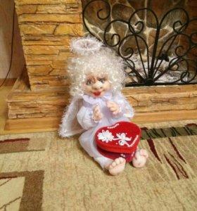 Кукла интерьерная