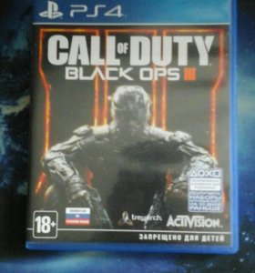 Call Of Duty:Black ops 3 PS4