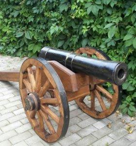 Пушки декоративные дубовые