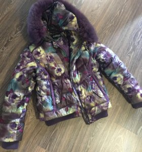 Продам куртку с мехом