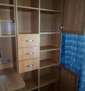 Шкаф для одежды,компьютерный стол, книжный шкаф