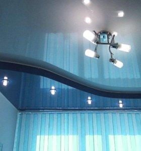 Натяжные потолки Lackfolie LF090 4м
