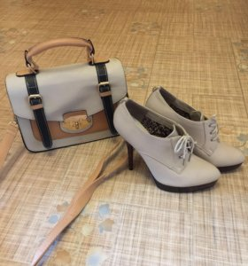 Ботильоны +сумочка