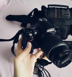 Nikon D3000 kit 18-55 VR !!!)